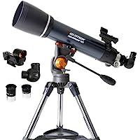 Celestron - AstroMaster 102AZ Refractor Telescope - Refractor Telescope for Beginners - Fully-Coated Glass Optics…