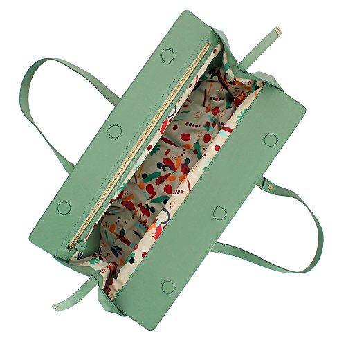 Sac grande bandoulière magnétique Élégant poignées capacité souple et à avec DUDU ajustables femme pour Eau cuir fermeture en dnxUd
