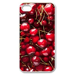 Hard Shell Case Of Cherry Customized Bumper Plastic case For Iphone 4/4s