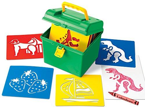 Lakeshore Giant Stencils Box (Lakeshore Supplies)
