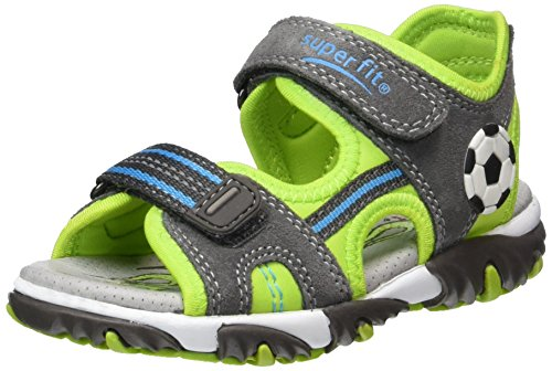 Superfit Jungen Mike 2 Sandalen Grau (stone Multi)