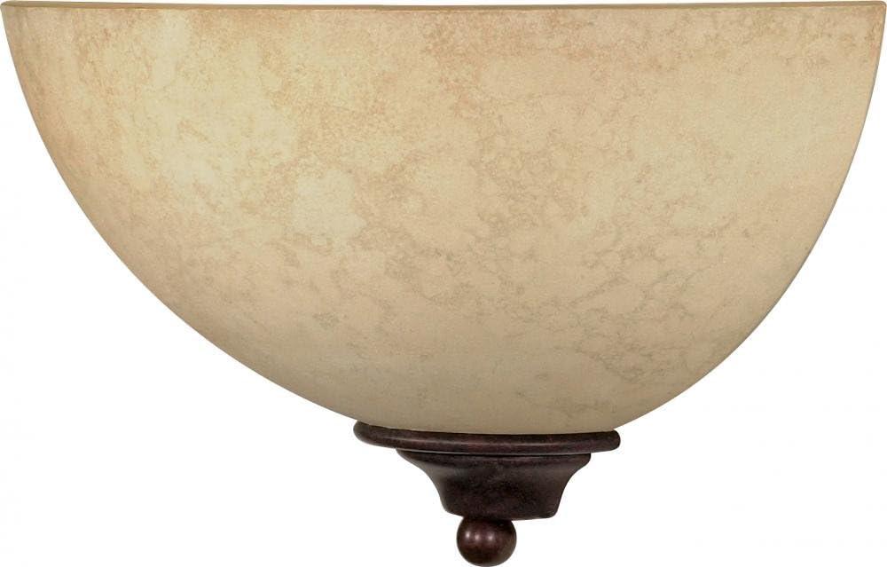 NUVO 60/044 One Light Wall Sconce Vanity, Unknown, Bronze/Dark