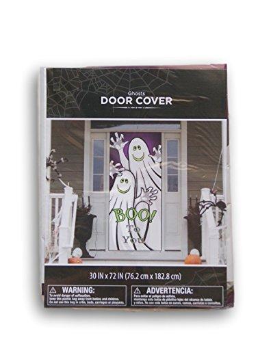 Halloween Ghosts ''Boo to You!'' Door Cover - 30'' x -