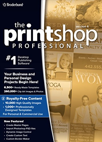 The Print Shop Professional 4.0 - Unleash Your Creativity, at the Highest Level! [Download] by Encore