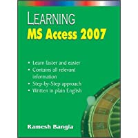Learning MS Access 2007