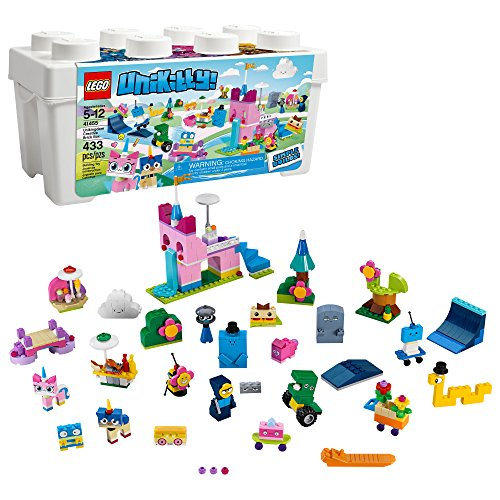 LEGO Unikitty! Unikingdom Creative Brick Box 41455 Building Kit (433 Piece)