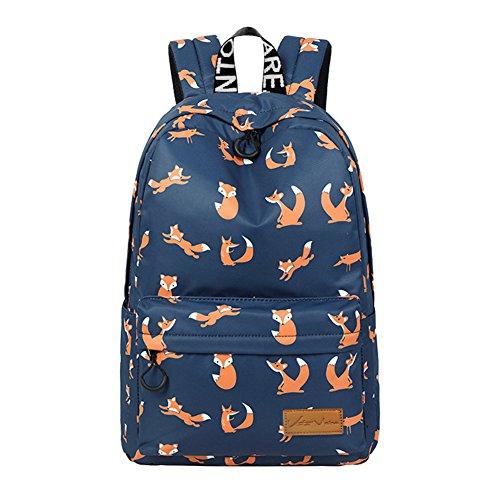 VentoMarea Lightweight Canvas Backpacks School Bag Casual Travel Daypacks