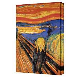 The Art Wall Edward Munch The Scream Gallery Wrapped Canvas
