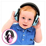 My Happy Tot Hearing Protection Headphones. Noise Reduction for Children & Infants, Fully Adjustable for 0-12 Yrs. Low Profile Cups, Padded 'Snug Fit' Professional Earmuffs for Kids