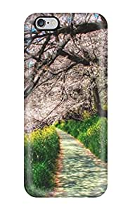 PFXgmij3415VtMOY Alex D. Ulrich Awesome Case Cover Compatible With Iphone 6 Plus - Spring Trees Grass Lake Way Amp Digital