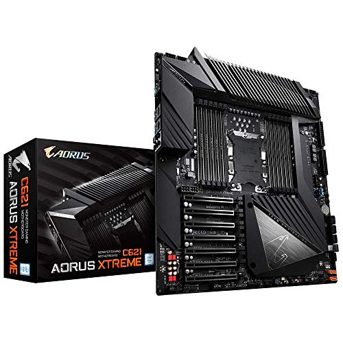 - GIGABYTE C621 AORUS Xtreme (Intel C621/E-ATX/12xDDR4/7xPCIe 3.0/Dual Intel GbE LAN/8xSATA3/1xU.2/32-Phases/Server Motherboard)
