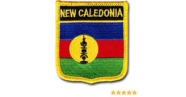 Country Shield Patches New Caledonia