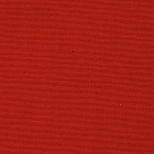 9.3 oz. Canvas Duck Red Fabric By The Yard