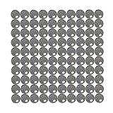 BC Precision Kit12257 5mm Diameter Chrome Steel Ball Bearing G10 Ball Bearings (Set of 100)