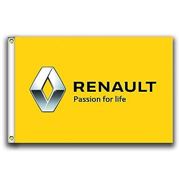Amazon.com: MCCOCO Renault - Banderines con logotipo de ...