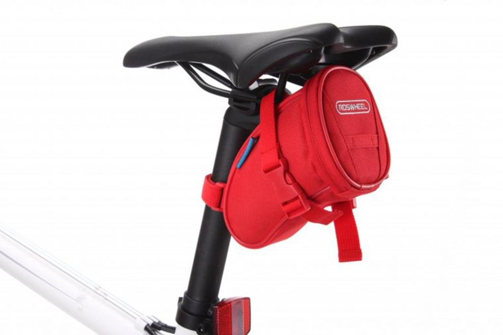 Tofern Bicycle saddle outdoors pouch cycling seat pack seat storage pannier (1L)