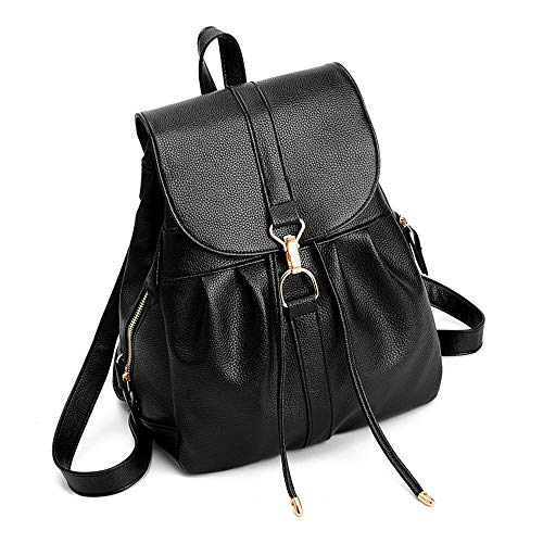 Leather 24x11x31cm Fashion Backpack Pack Ambiguity Donna Simple A An1qwdpzd