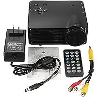 CPX-320 mini home projector QVGA(320 x 240 Pixels) Support 1080p 400ANSI LMprojector Black