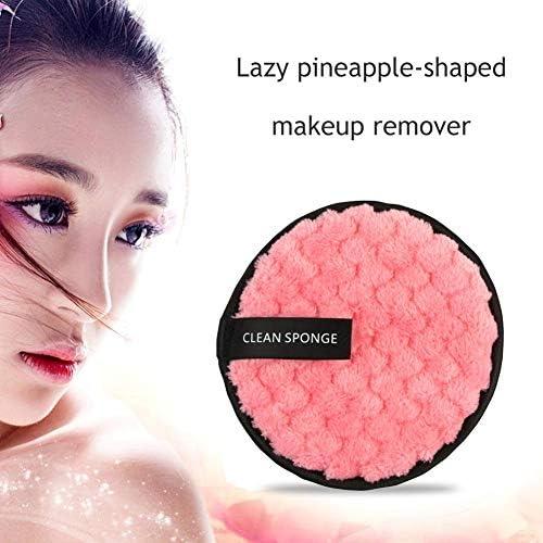 Lavable Lingettes Visage Yeux Pour Femme Homme Everpert Pads D/émaquillant Visage Eponge Nettoyage du Visage Eponge Maquillage Pads Super Doux R/éutilisable