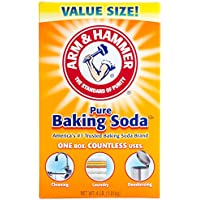 Baking Soda, 4 lb., Odorless, Box, PK6