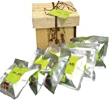 Nuts+Nuts gourmet gift with 6 packs of assorted flavors roasted cashew nuts