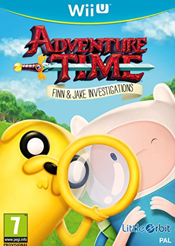 Bandai Namco Entertainment Adventure Time: Finn And Jake Investigations (Nintendo Wii U) (South Park Wii Game)