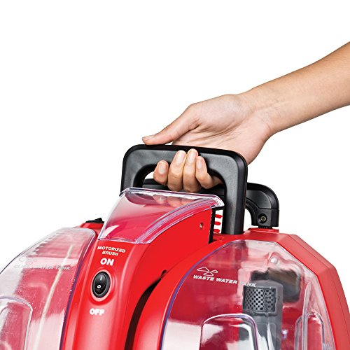 Rug Doctor Portable Spot Cleaner, 1.9 Litre, Red/Black