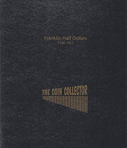 1948-1963 BEN FRANKLIN HALF #R-100 THE COIN COLLECTOR 2 PAGE 40 COIN SLOT COIN; ALBUM, BINDER, BOARD, BOOK, CARD, COLLECTION, FOLDER, HOLDER, PAGE, PORTFOLIO, PUBLICATION, SET, VOLUME by THE COIN COLLECTOR