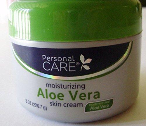 Lot of 3 Jars Personal Care Moisturizing Aloe Vera Skin Cream 8 oz/each jar