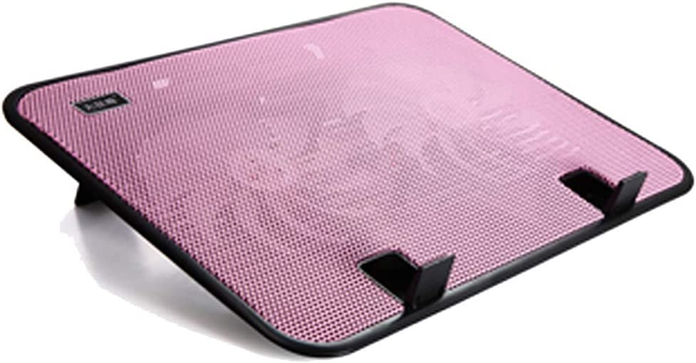MZZG Laptop Cooling pad Suitable for Gamers and Offices,F Laptop Cooler with Powerful Dual Fans and Ultra-Thin Design