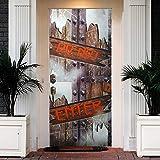 Halloween Don't Enter Hunted House 3D Door
