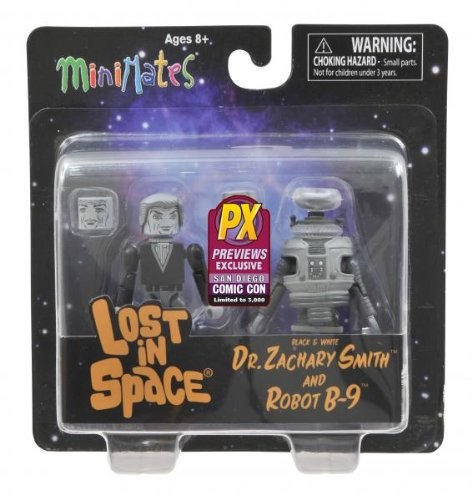- SDCC 2013 Lost In Space Black & White Previews Exclusive Minimates 2-Pack