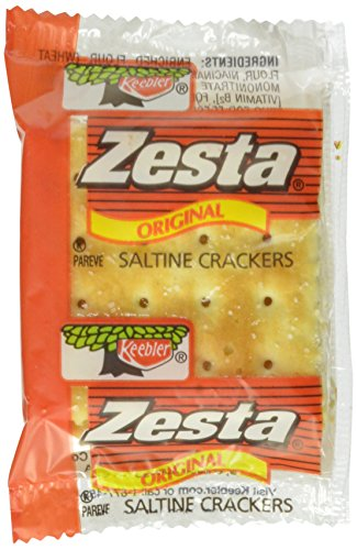 Keebler Zesta Saltine Crackers, 2 Count (Pack of (Wrapped Packets)