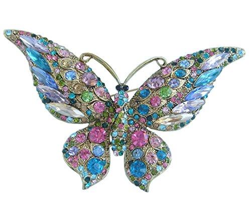 Multi Color Butterfly Brooch (Sindary Beautiful 3.74