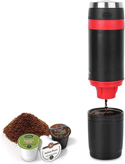 He-art Cafetera de Viaje K-Cup Capsule Operado por batería ...