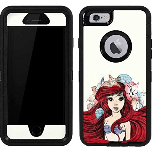 The Little Mermaid OtterBox Defender iPhone 6 Skin - Ariel Illustration