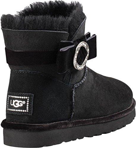 Boots Black Brooch Australia Karlie UGG Women's qw0B4xT