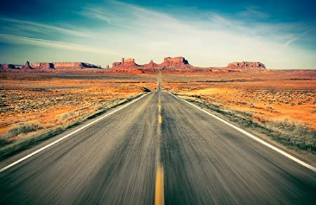 Stone Wall Photo Wallpaper Monument Valley KT457 Highway In The Desert Road Size 420