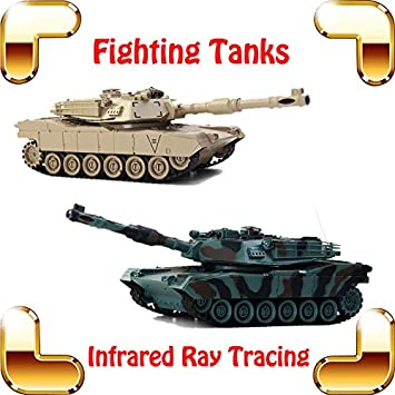 Amazon com : New Coming Gift COLLIDE USA M1A2 Battle Shooting Tanks