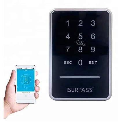 ISurpass Magnatic Door utiliza teclado numérico para abrir la puerta del lector de pared adecuado para
