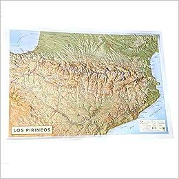 Mapa De Los Pirineos.Mapa En Relieve Pirineos Amazon Es All 3d Form S L Libros