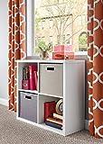 ClosetMaid 1108 Decorative 4-Cube Storage