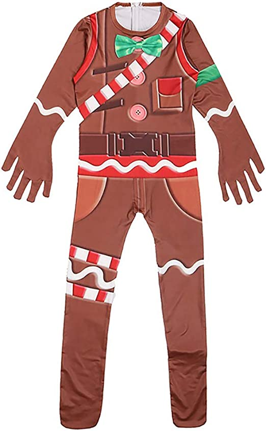 Johannas - Disfraz Infantil de Hombre de Jengibre para Halloween ...