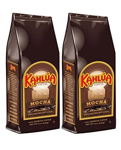 Coffee Kahlua Mocha Gourmet Ground Coffee, 12-Ounce Bags (Pack of 2)