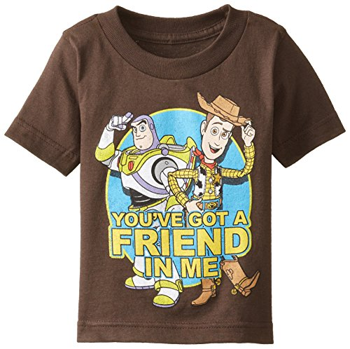 Toy Story Boy's Always Buds, Brown, 2T (Toy Story Shirts)