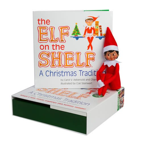 Elf on the Shelf:A Christmas Tradition (brown-eyed girl scout elf) ()