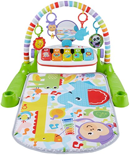 51nZkQKBNkL - Fisher-Price Deluxe Kick 'n Play Piano Gym