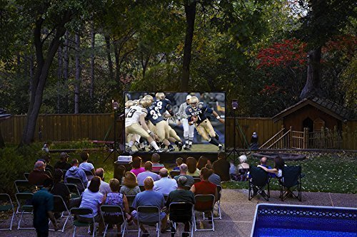 10' Backyard Theater System W/Optoma 500HD Projector+WiFi