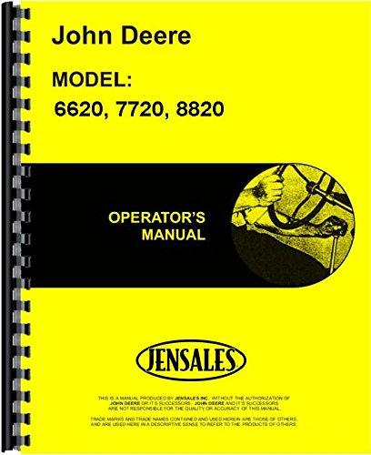 John Deere 6620 7720 8820 (615000 and up) Combine Operators Manual (JD-O-OMH133890)