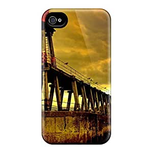 AngelaMs Case Cover For Iphone 4/4s - Retailer Packaging Amazing Lighthouse Scape Protective Case